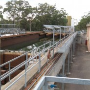 Cleaning up a water treatment plant